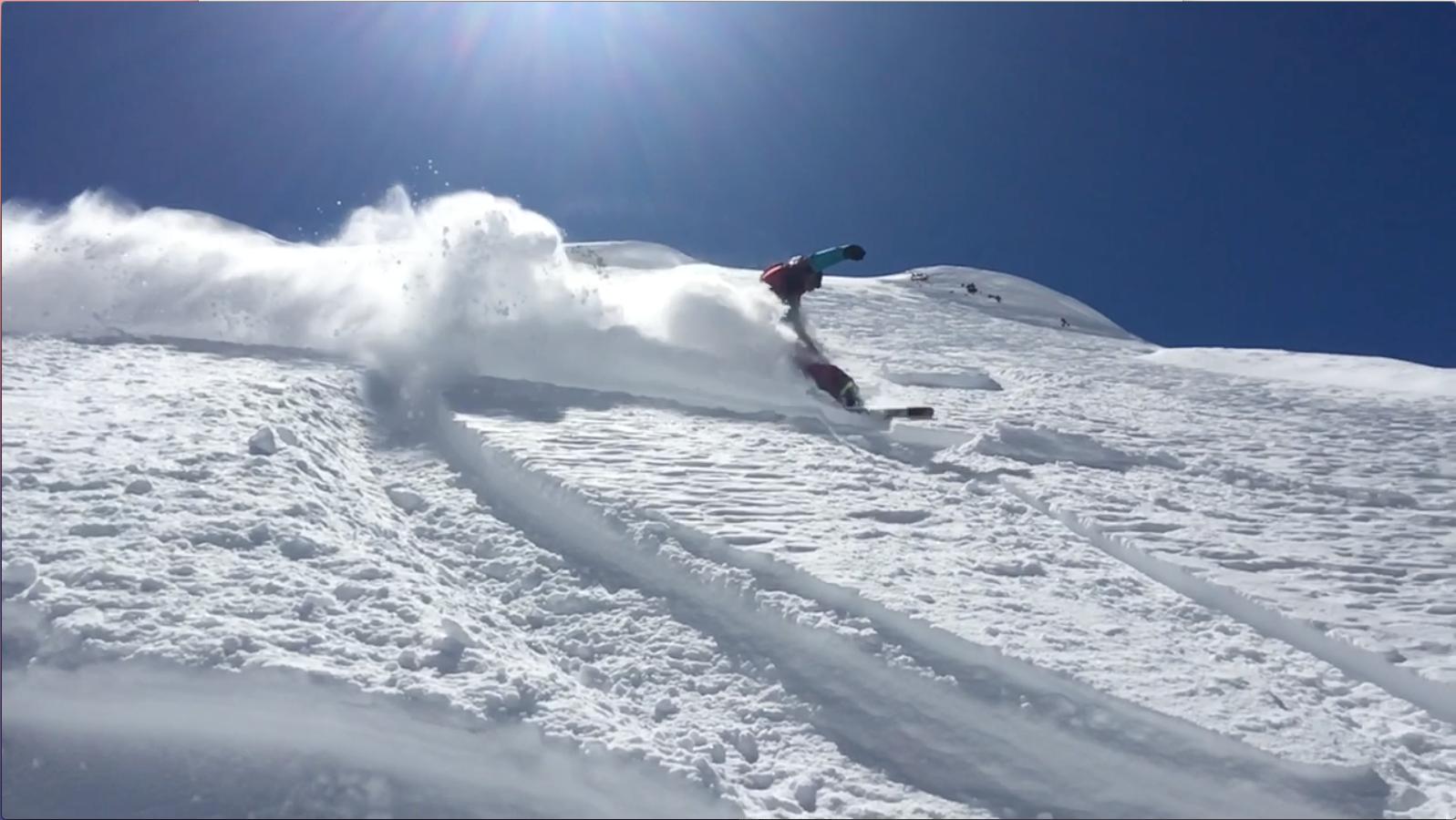 Maestro di snowboard Giorgio Di Bari