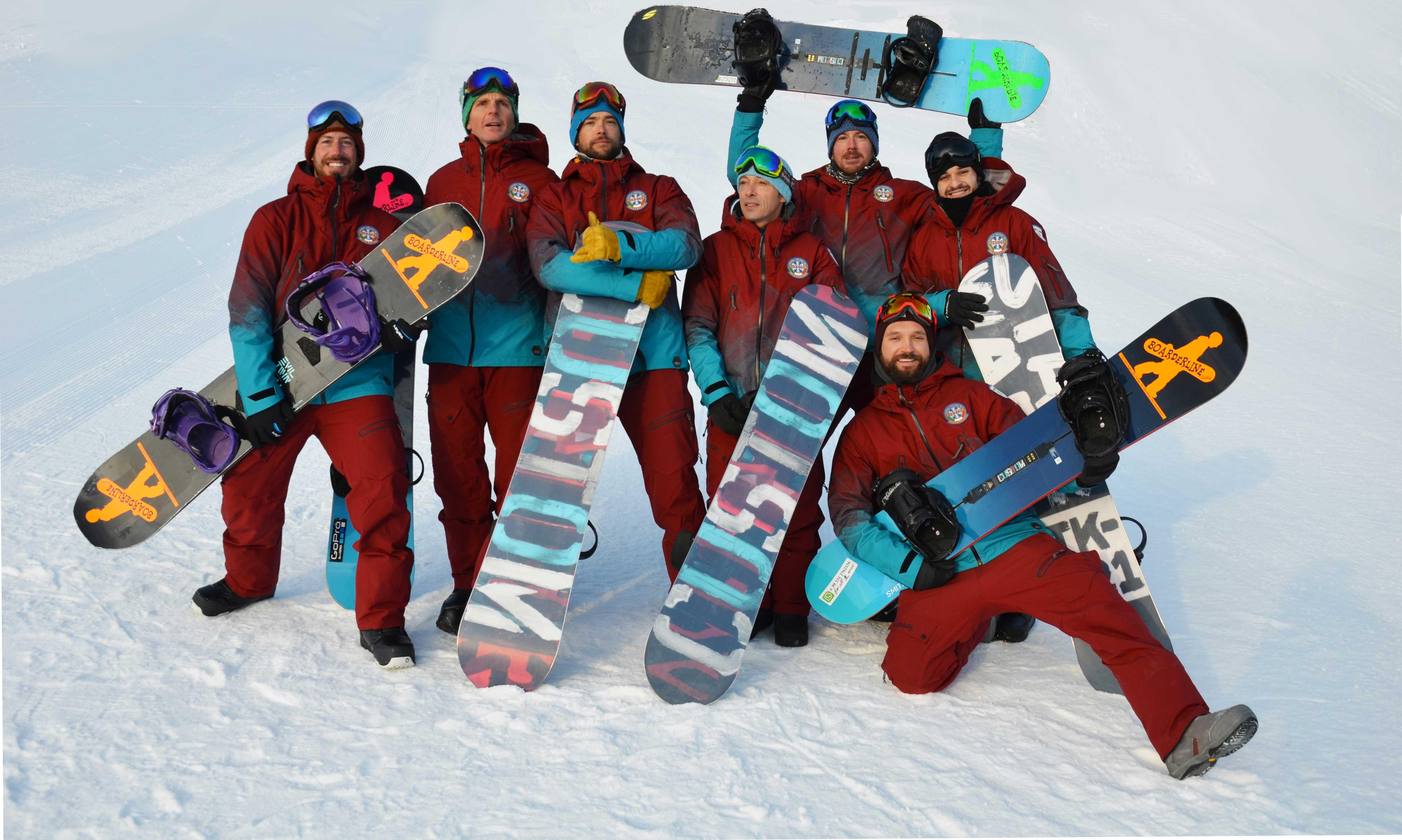 Maestri snowboard Cortina