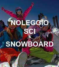 Noleggio sci e snowboard online